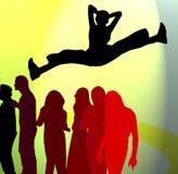 dancing party διανυσματική απεικόνιση
