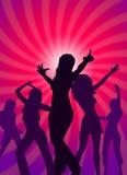 Dancing party Stock Photos