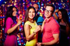 Dancing at party royalty free stock photo