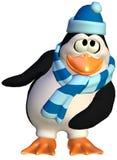 Dancing penguin royalty free illustration