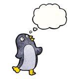 dancing penguin cartoon Stock Images