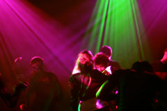 Dancing People. In a club royalty free stock photography