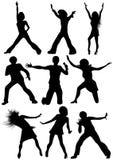 Dancing_people Fotografie Stock Libere da Diritti