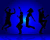 Dancing people Royalty Free Stock Photography