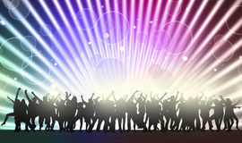 Dancing people Stock Images