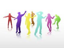 Dancing people Stock Photos