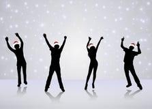 Dancing people Royalty Free Stock Photo