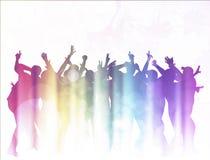 Dancing people Royalty Free Stock Image