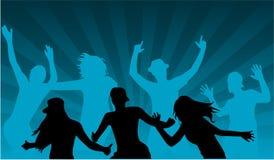 Dancing People - illustration royalty free illustration