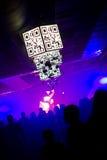 Dancing people at the nightclub Stock Photos