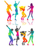 dancing people Stock Photography