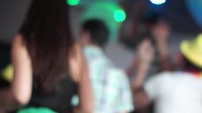 Dancing people stock video footage