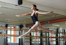 Dancing performer Stock Images