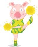 Dancing pig Stock Photography