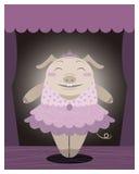 Dancing pig Royalty Free Stock Photo