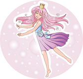 Dancing Princess Royalty Free Stock Image