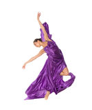 Dancing professional ballerina Royalty Free Stock Image