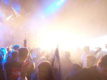 Nightclub. Dancing at PRYZM nightclub on a night out Stock Photos