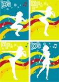 Dancing Queen ilustración del vector
