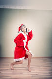 Dancing Santa Royalty Free Stock Images