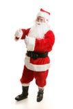 Dancing Santa Boogies Stock Images