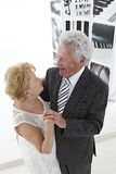 Dancing senior couple Royalty Free Stock Image