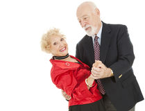 Dancing Seniors Dip Stock Photo