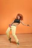 Dancing series Stock Image