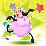 Dancing Sheep Stock Photos