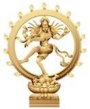 Dancing Shiva. Statue of Indian hindu god Shiva Nataraja. The creator and destroyer Royalty Free Stock Image