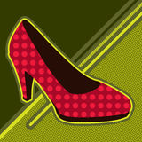 Dancing shoe Stock Image
