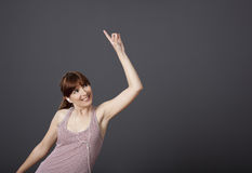 Dancing and singing Royalty Free Stock Photos