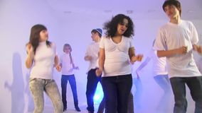 Dancing And Singing stock footage
