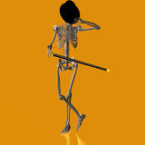 Dancing Skeleton #03 Stock Images