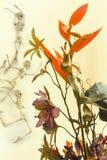 Dancing Skeleton Flowers Royalty Free Stock Photo