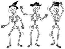 Dancing Skeletons Stock Photo