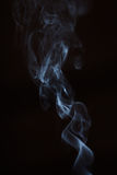 Dancing smoke royalty free stock images