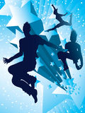 Dancing with the stars Royalty Free Stock Image