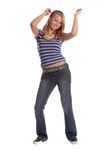 Dancing Student royalty free stock photo