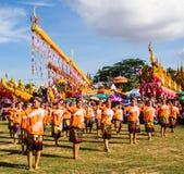Dancing tailandese Immagini Stock
