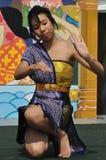 Dancing tailandese della ragazza al festival di eredità di Edmonton fotografie stock