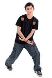 Dancing teenager Stock Photography