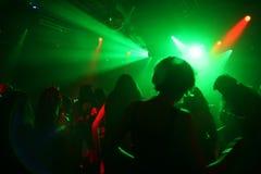 Dancing teenagers stock photos