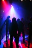 Dancing teenagers Stock Photo