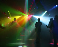 Dancing teenagers Royalty Free Stock Photography