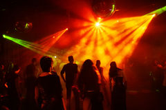 Dancing teenagers Royalty Free Stock Images