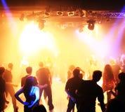Dancing teenagers Stock Photography