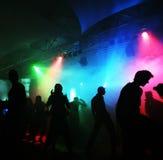 Dancing teenagers Stock Image