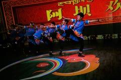 Dancing tibetano, 2013 WCIF Immagini Stock Libere da Diritti