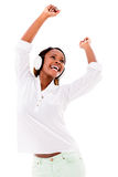 Dancing to the music Royalty Free Stock Images